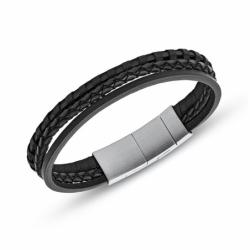 Bracelet homme FOSSIL CASUAL tressé