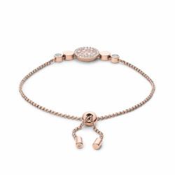 Bracelet Femme Fossil disque nacré