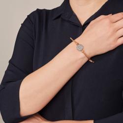 Bracelet Femme Fossil Glitz à chevrons
