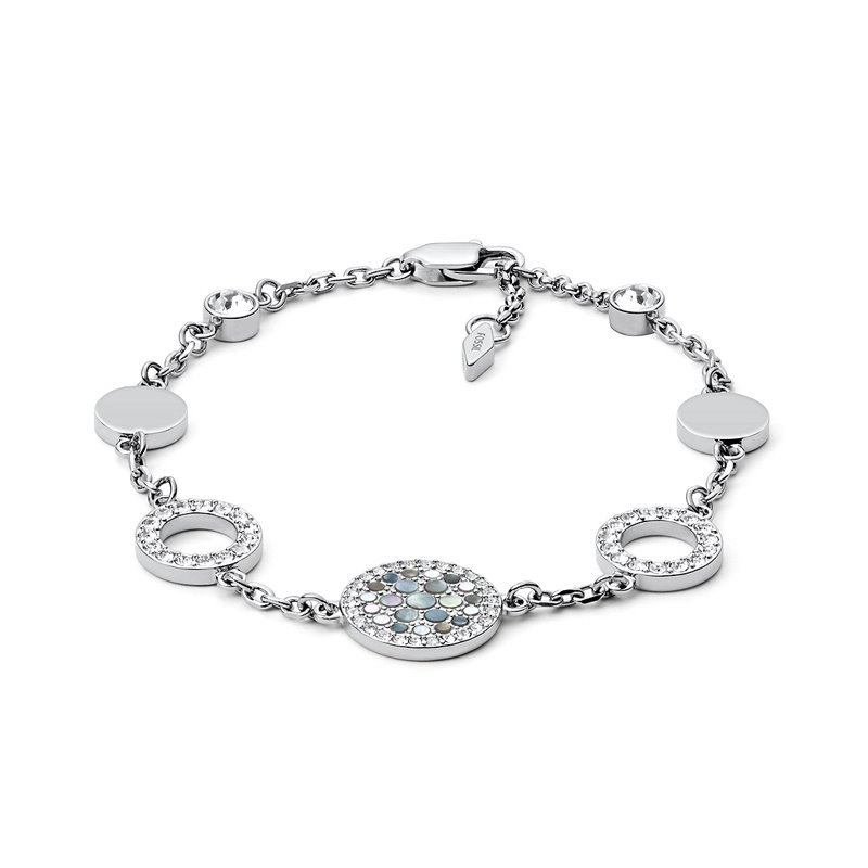 Bracelet femme FOSSIL Glitz avec cristaux