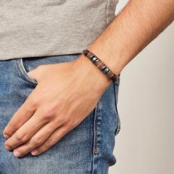 Bracelet Homme Fossil CASUAL perlé