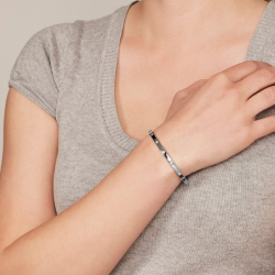 Bracelet Femme Jonc FOSSIL à pois