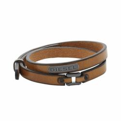 Bracelet homme DIESEL STACKED cuir