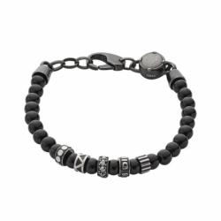 Bracelet homme BEADS noir