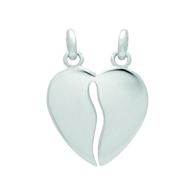 Pendentif Coeur EDORA  ARGENT 925/1000