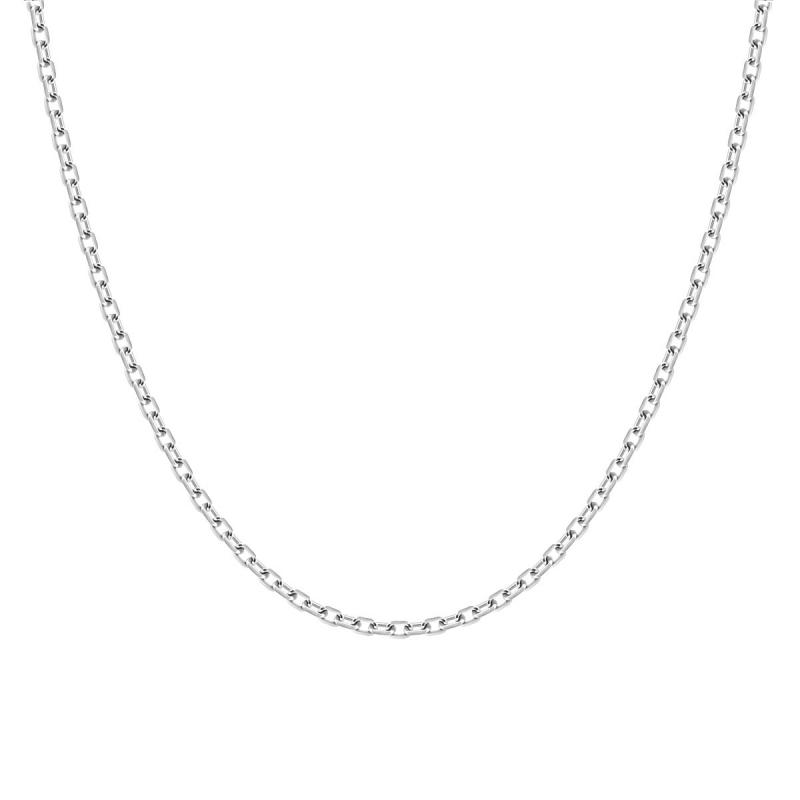 Chaîne  ARGENT 925/1000 Forçat diamantée 1.90 mm