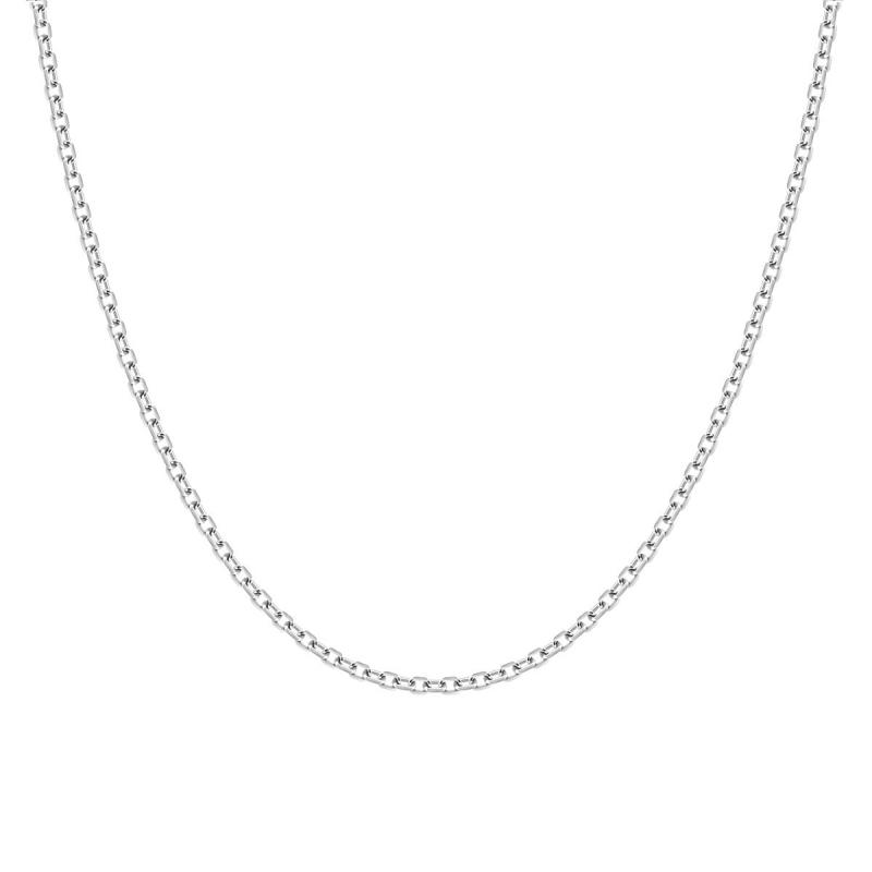 Chaîne ARGENT 925/1000 Forçat diamantée 1.75 mm