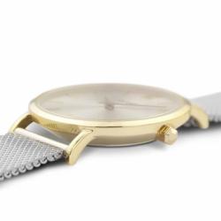 Montre Femme Cluse Minuit Mesh Gold Silver