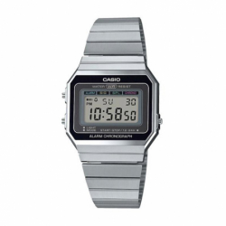 Montre Digitale CASIO Vintage Acier Gris