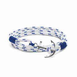 Bracelet TOM HOPE ROYAL BLUE L ARGENT 925/1000 et Cordon