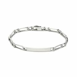 Bracelet Gourmette Identité ARGENT 925/1000 Argenté