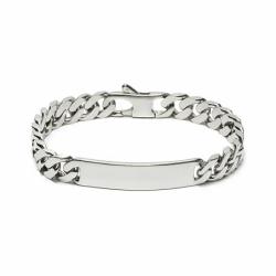 Bracelet Homme Gourmette EDORA ARGENT 925 /1000