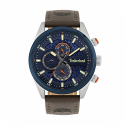 Montre Homme Chronographe TIMBERLAND Ridgeview Cuir Brun