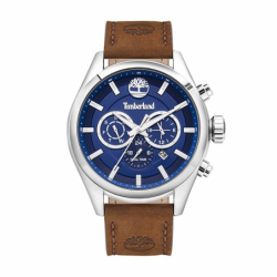 Montre Homme Chronographe TIMBERLAND Ashmont Cuir Brun