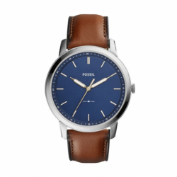 Montre homme FOSSIL MINIMALIST Cuir Marron