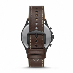 Montre Homme Fossil Forrester Chronographe  Cuir Brun