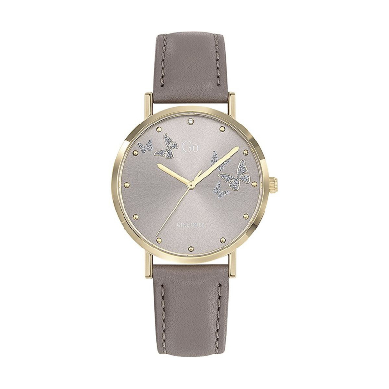 Montre Femme GO Cuir Taupe