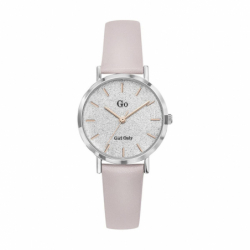 Montre femme Girl Only cuir rose clair