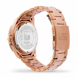 Montre femme ICE WATCH STEEL blue cosmos / rose gold