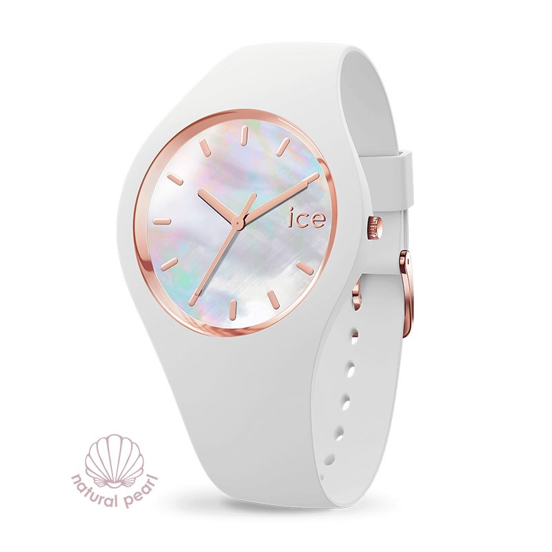 Montre femme ICE WATCH PEARL white - M
