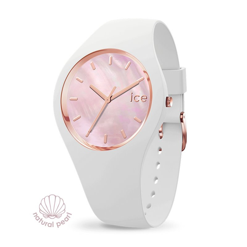 Montre femme ICE WATCH PEARL white / pink - M