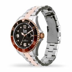 Montre mixte ICE WATCH STEEL chic silver / rose gold