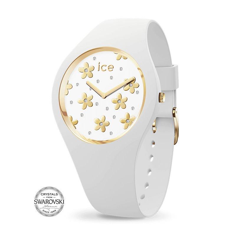 Montre femme ICE WATCH FLOWER precious white - S